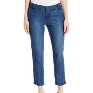 KUT from the Kloth Relaxed Crop Trouser Pants 0